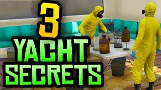 GTA 5 - 3 Secret & Hidden Yacht Features You NEED to Know in GTA 5 Online!
