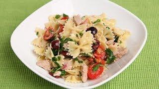 Italian Tuna Pasta Salad Recipe – Laura Vitale – Laura in the Kitchen Episode 757