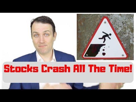 Stock Market Crash News- Are You Buying Stocks?