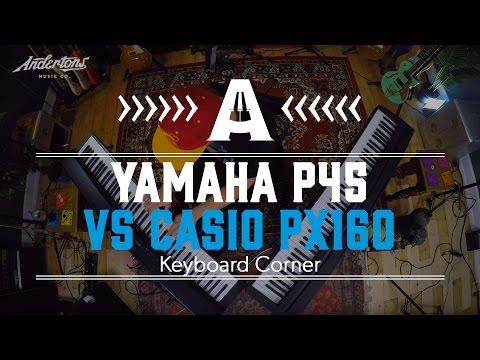 Keyboard Battle - Yamaha P45 vs Casio PX160
