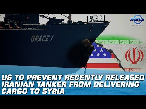 US To Prevent Recently Released Iranian Tanker From Delivering Cargo To Syria | Indus News