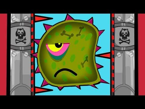 Суровый ЛИЗУН ГЛАЗАСТИК съедает все НА ЛУНЕ #2! Игра Tales from Space Mutant Blobs Attack