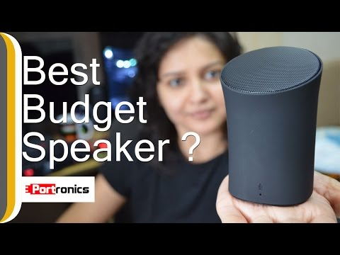 Portronics POR-280 Sound Pot Bluetooth Speaker Unboxing & Review