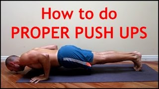 How To Do Push Ups with Antranik