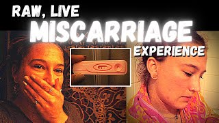 MY ENTIRE MISCARRIAGE EXPERIENCE (LIVE) | BLIGHTED OVUM | what a miscarriage is really like
