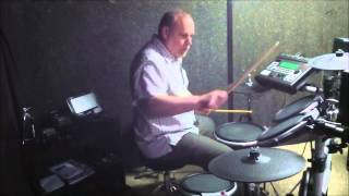 """Drumming to Deep Purple """"Any Fool Kno That"""""""