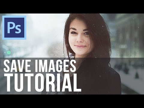 How To Save Images in Photoshop CS6