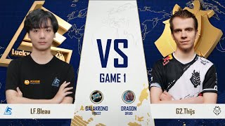 Lucky Future vs G2 Esports - Group B Elimination - Gold Club World Cup