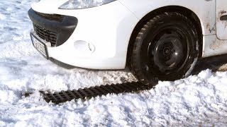 Breaking-News: Nie wieder festfahren mit diesen Schneeketten! Mit Lutz Herkner (Januar 2019) 4K UHD