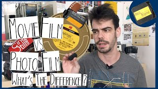 Movie Film Vs. Photo Film: What's the Difference?