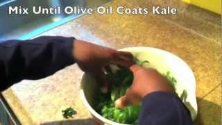 Clean Eating Kid Chef Makes Snacks For Kids: Kale Chips