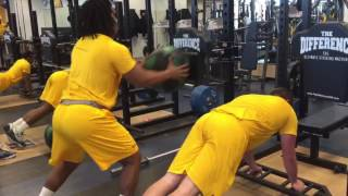 Compound Workout Set with Kent State University Football