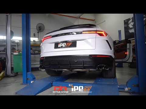 Lamborghini Urus w/ Full iPE Exhaust X Dita racing
