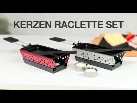 Mini Candle Light Raclette Set