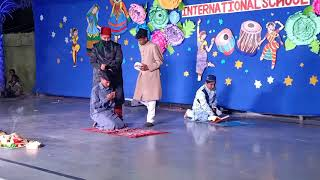 A silent skit by the students of Sparkles International School