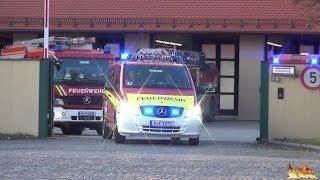 preview picture of video '[Neuer Einsatzleitwagen] Löschzug + Leichenzug BF München FW7 mit neuem ELW [Frontblitzer]'