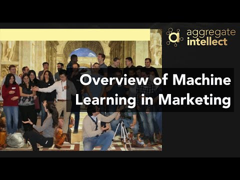 Overview of Machine Learning in Marketing