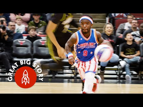 You Don't Have to be Tall to be in the Harlem Globetrotters