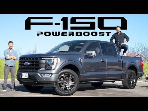 2021 Ford F-150 Lariat PowerBoost Review // $60,000 Powerhouse
