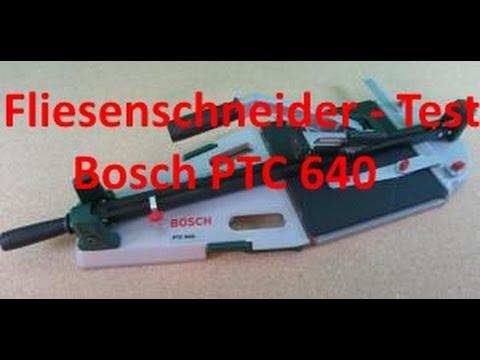 Testergebnis Fliesenschneider Bosch PTC 640