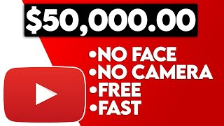 Earn $50,000 On YouTube Without Making Videos (Make Money Online 2021)