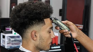 DROP FADE W/ BEARD LINE UP HAIRCUT TUTORIAL