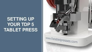 Tablet Pill Press TDP How to change the tablet size
