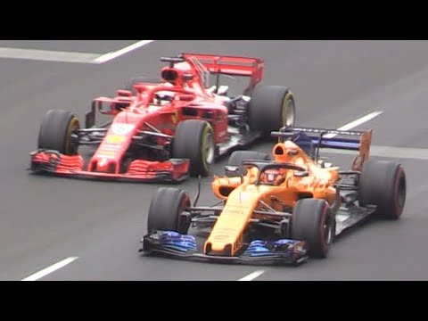 F1 2018 Pre-season Test Day 4-SF71H,MCL33,W09,RB14 & all F1 cars