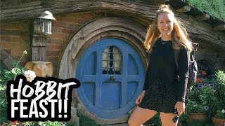 HOBBITON TOUR & HOBBIT FEAST // The Shire, Middle Earth (New Zealand)