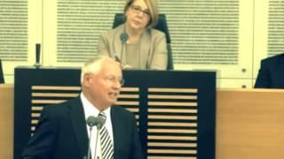 Oskar Lafontaine im Landtag zur Windkraft und Energiewende