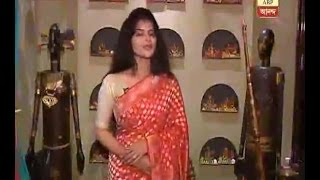 What will be the fashion statement of actress Madhumita Sarcar(Pakhi) in this Puja? Watch