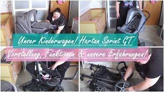 UNSER KINDERWAGEN! || Hartan Sprint GT || Reborn Baby Deutsch || Little Reborn Nursery