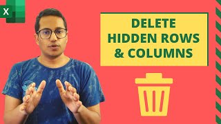 Delete Hidden Rows and Columns in Excel (Quick and Easy)