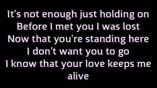 """""""Rush Over Me"""" Backstreet Boys (Lyrics/Karaoke) Album: Never Gone"""
