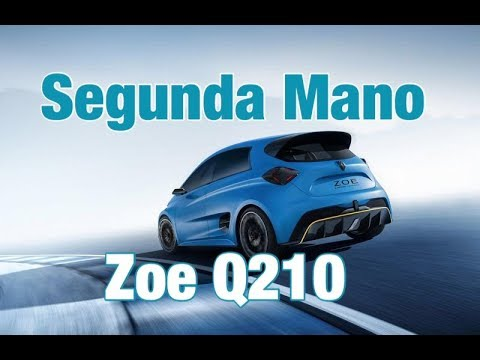 Coches eléctricos de segunda mano Renault Zoe Q210