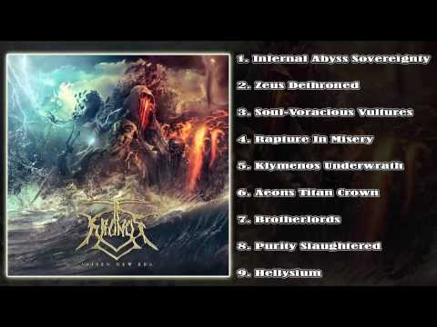 Kronos - Arisen New Era (FULL ALBUM 2015/HD) [Unique Leader Records]