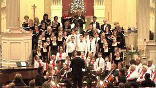 """Nativity Carol"" - John Rutter, Continuo Arts Foundation Holiday Concert 2011"