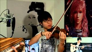 Maroon 5 - Payphone - Sungha Jung (Guitar), Jun Sung Ahn (Violin) and Ray Mak (Piano) Cover