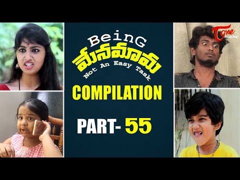 Best of Being Menamama Telugu Comedy Web Series Highlight Scenes Vol 55 Ram Patas TeluguOne