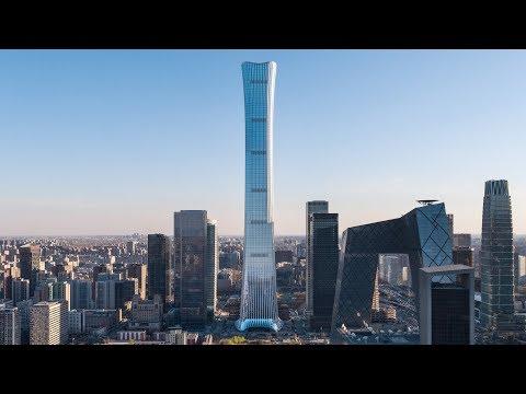 У Пекині з'явився півкілометровий хмарочос, який увійшов до десятка найвищих у світі