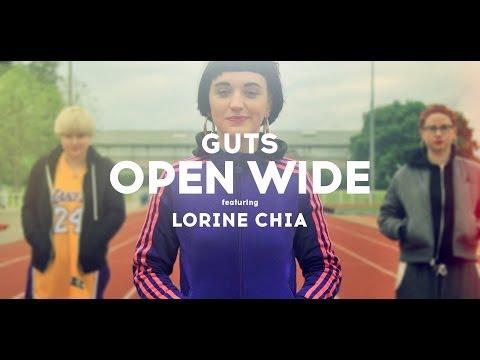 GUTS – OPEN WIDE