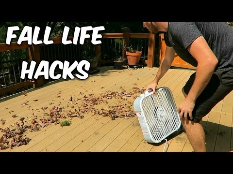 Safely Remove Leaves From Your Gutters With A Homemade Blower Extension