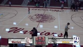 Winamac Girls Varsity Basketball vs Rochester