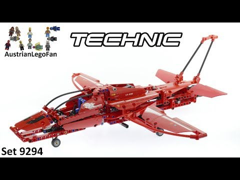Vidéo LEGO Technic 9394 : L'avion supersonique