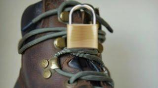 Survival Shoelace Knot - Never comes undone!