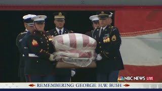 PART 3: Bush 4141 train carries president to final resting place