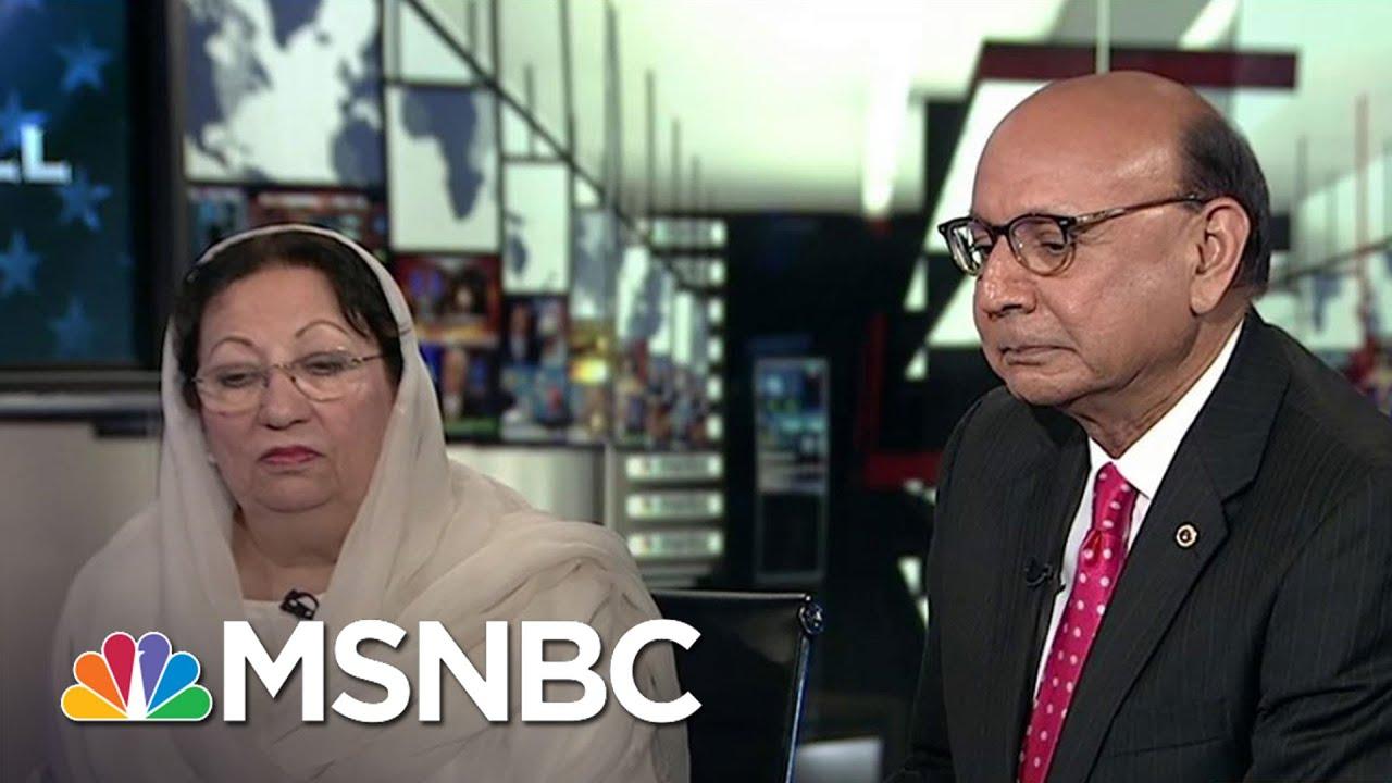 Khizr Khan: U.S. Flag 'Means So Much To Me'   Hardball   MSNBC thumbnail
