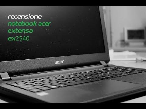 Acer Extensa EX2540 Video #2