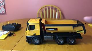Top Race TR-212(1573) dump truck- Unboxing & first impressions- RC Cincy