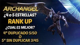 Arcangel 4 (Duplicado) o 5 (Sin Dúplica) Estrellas? Rank Up - Marvel Contest Of Champions